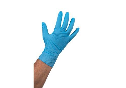 Huchem Blauwe Nitril Handschoen ong.  100 stuks