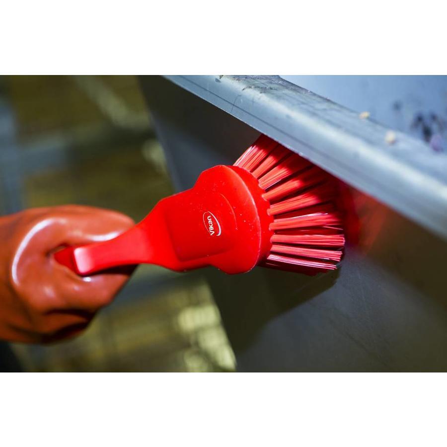 Harde ergonomische handborstel