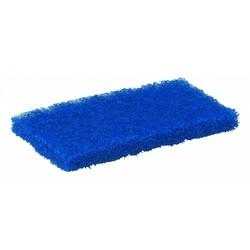 Medium blauwe schuurpad - 10 stuks