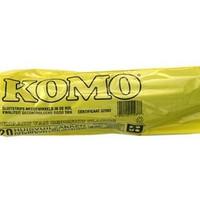 Komo vuilniszak - 60x80cm - 400 stuks