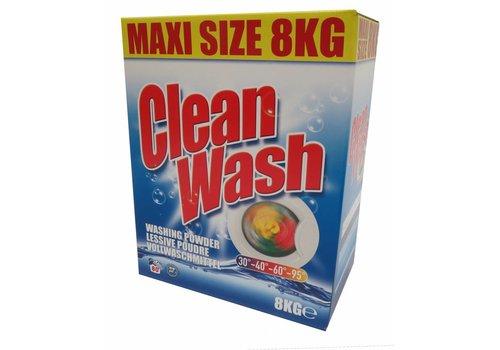 Wasmiddel Clean Wash - Doos 8 kg