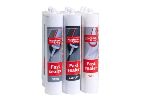 Huchem Fast Sealer Zwart - Tube 290 ml