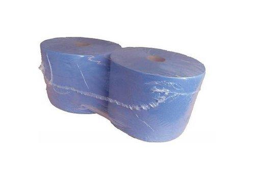 Uierpapier - 100 vellen, 3 laags, blauw