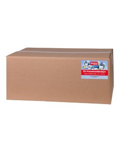 Papieren Handdoekjes - 5000 stuks, 1 laags, 23x25cm