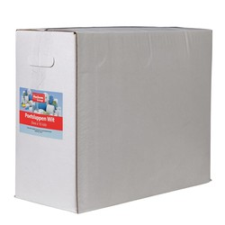 Witte poetsdoeken Doos 10 kg