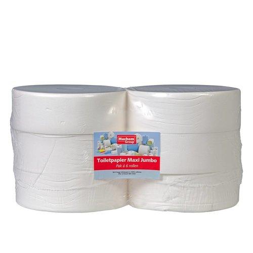 Toiletpapier Maxi Jumbo - 6 rollen, 380m, 2 laags