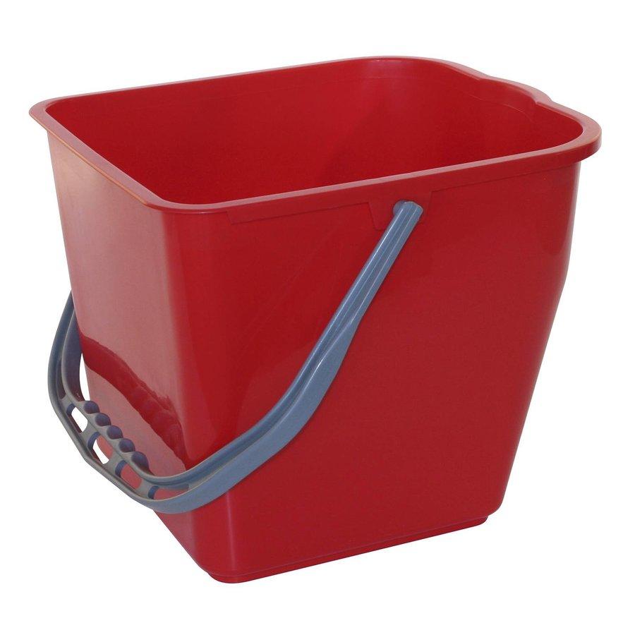 Rode emmer - 10 liter