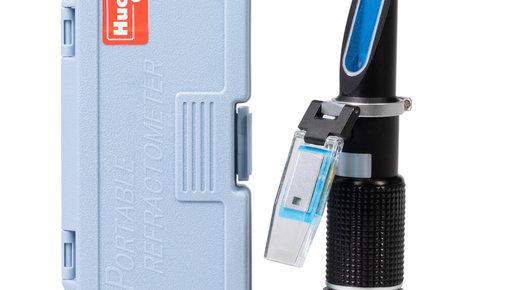 Refractometer (vriespunt koelmiddel bepalen)