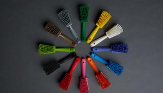 Zo werkt schoonmaken met de kleurcodering van Vikan