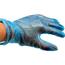 Huchem Blauwe Vinyl Handschoen ongep. - 1000 stuks