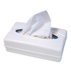 Tissue dispenser kunststof - wit