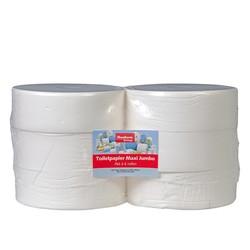 Toiletpapier Maxi Jumbo - 6 rollen, 525m, 1 laags