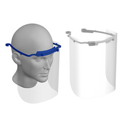 Kunststof gelaatsmasker