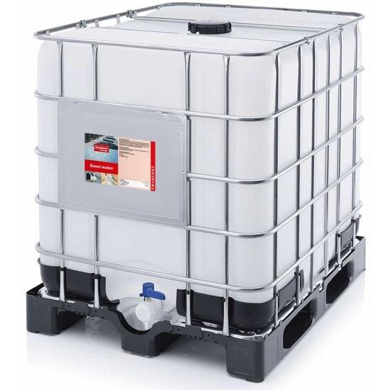 bulk water per ibc container