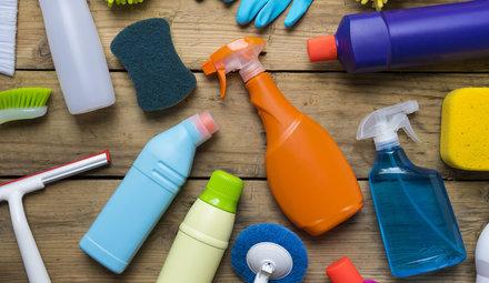 Speciale schoonmaakmiddelen