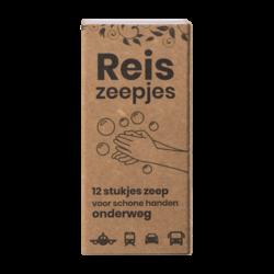 Mini Reis- en Toiletzeepjes (12 stuks)