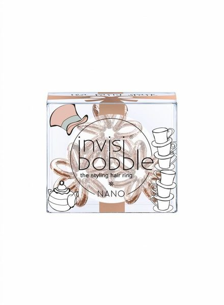 invisibobble® NANO I Live in Wonderland Limited Collection Tea Party Spark