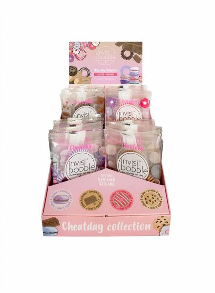 invisibobble® Cheatday 24er Display
