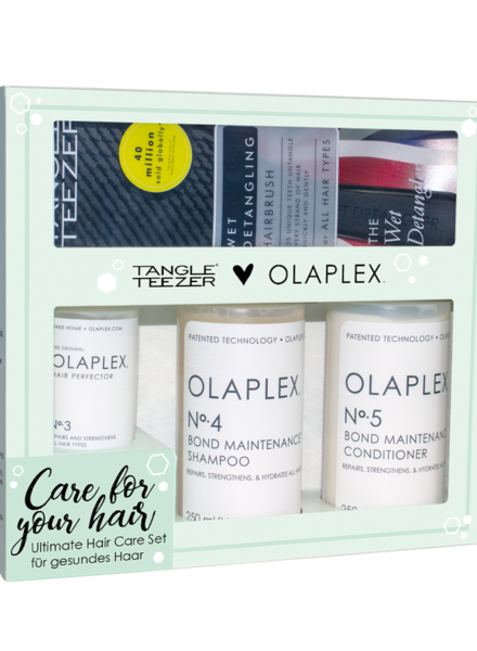 OLAPLEX® vs. Tangle Teezer® Set