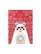 invisibobble® Wishlist Greeting Card Ho Ho Yo