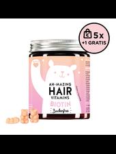 Bears With Benefits Ah-mazing Hair Vitamin Biotin Zuckerfrei 5+1 Set