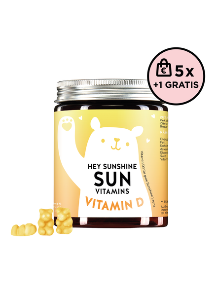 Bears With Benefits Hey Sunshine Sun Vitamins Vitamin D 5+1 Set