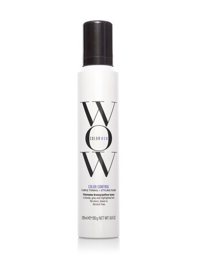 Color Wow – Color Control Purple Toning and Styling Foam