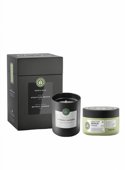Maria Nila Xmas Set Structure Repair Masque + Candle 2018