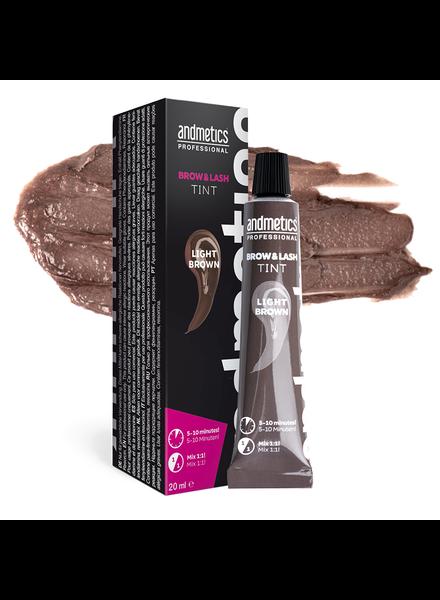 andmetics professional Andmetics Professional Brow & Lash Tint light brown