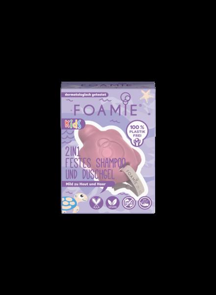 Foamie 2in1 Feste Kinderpflege - Turtelly Cute