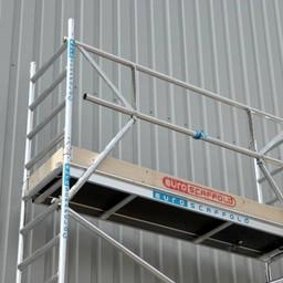Euroscaffold Voorloopleuning - Montage Leuning 250cm