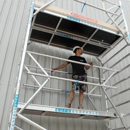 Euroscaffold Voorloopleuning - Montage Leuning 305cm