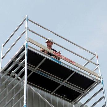 Euroscaffold Set aluminium kantplanken 190 x 75 cm