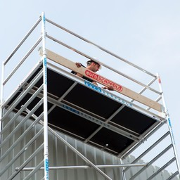 Euroscaffold Set aluminium kantplanken 190 x 135 cm