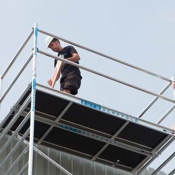 Euroscaffold Set aluminium kantplanken 2.50 x 0.75m