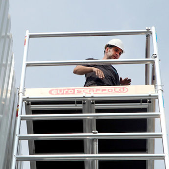 Euroscaffold Set aluminium kantplanken 250 x 135 cm