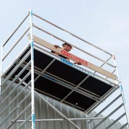 Euroscaffold Set aluminium kantplanken 305 x 75 cm