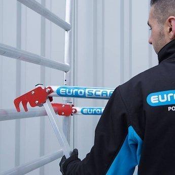 Euroscaffold Steigertransporter met 10,2 rolsteiger 2018