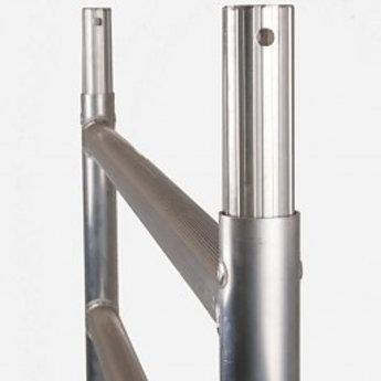 Euroscaffold Module 90x305 met dubbele voorloopleuning