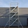 Euroscaffold Trappentoren 135x250x8,2m werkhoogte met vloeren