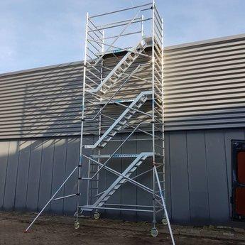 Euroscaffold Trappentoren 135x250x8,2m werkhoogte