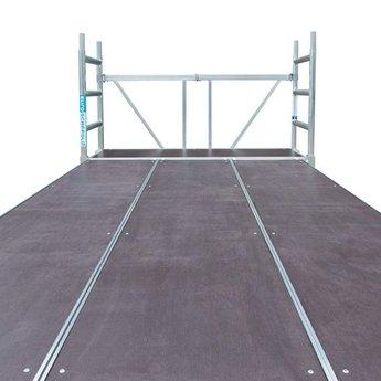Euroscaffold Stucadoor steiger 190x400cm platform 3m werkhoogte