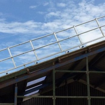 Roof Shelter Kopgevelbeveiliging Roof Shelter 15m complete set