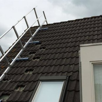 Roof Shelter Kopgevelbeveiliging Roof Shelter 3m complete verlengmodule