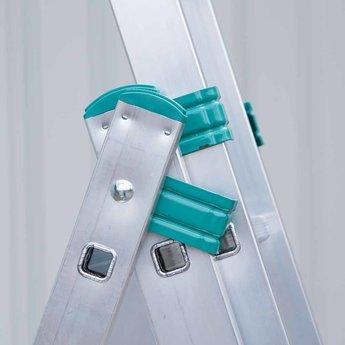 Eurostairs Eurostairs home reform ladder driedelig recht 3x12 sporten