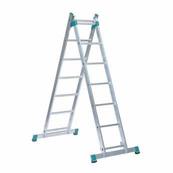Eurostairs Steiger-ladder 3-in-1