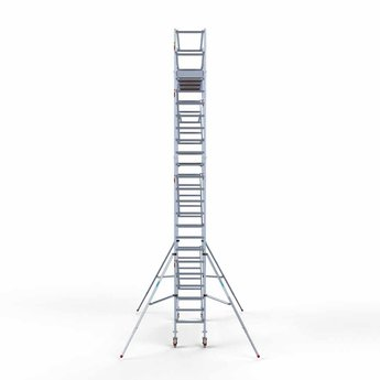 Euroscaffold Standaard rolsteiger 75 x 305 x 8,2m werkhoogte