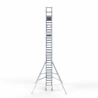 Euroscaffold Standaard rolsteiger 75 x 305 x 10,2m werkhoogte