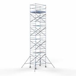 Euroscaffold Brede rolsteiger 135 x 190 x 10,2m