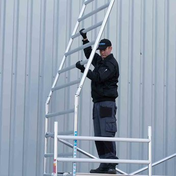 Euroscaffold Standaard rolsteiger 135 x 190 x 10,2m werkhoogte